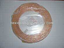 """1/2"""" Pancake Copper Pipe Coil, Copper Tube Coil"""