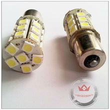 High bright 1156 ba15s socket led auto bulb 5050 27smd