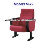 FM-72 Cheap price plastic auditorium chair furniture made in china