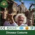 Jldc- 1270 vida tamaño traje de dinosaurio de circo de equipo