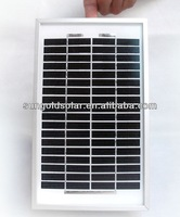 3w small mono solar panel with outlet