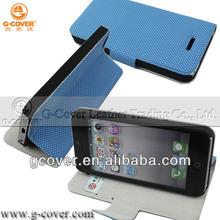 2014 new design Elegant PU Wallet for Smart Phone5s