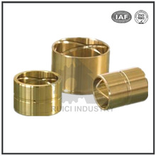 Dalian custom CNC precision turning brass bush/brass bushing