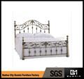 longfangキングサイズの錬鉄製のベッド