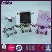 Custom mascot plastic figure