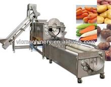 Hot sale high quality carrot washing machine/Potato peeling machine/Vegetable polishing machine