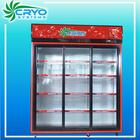 1000l 220v 3 door pepsi,cold energy drink,wine,soft drink vertical commercial refrigerator display beer cooler