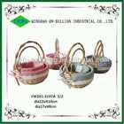 Hot sell children oval fancy gift baskets