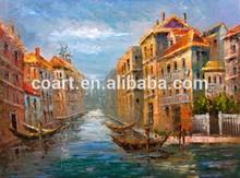 impressionist canvas venice landscape oil painting