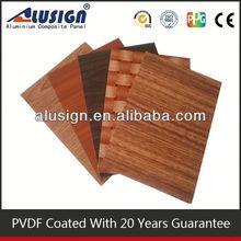 pvdf aluminum composite panels/claddings