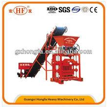 Professional brick machine! China Hongfa QTJ4-35B2 small scale economic and practical brick making machine