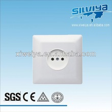 2013 European 2 pin wall mounted power outlet socket