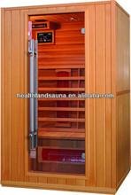 Leisure Style sauna cabin,Unique Design Long Handle Sauna Room,Luxury Far Infrared Home Sauna for 2 person