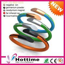 Vintage Colorful Germanium Basketball Silicone Rubber Bands/ Bracelet