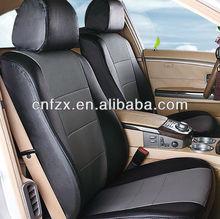 Wellfit Sponge Genuine Leather Car Seat Cover for Accessories Hyundai Sonata/Toyota/Nissan/Kia