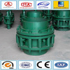 Screw connection pipe no thrust rotary pressure compensator