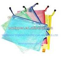 PVC mesh zipper Bag