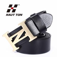 wholesale men's 100% genuine leather belt