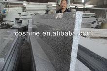 polished G603 stair grey granite step
