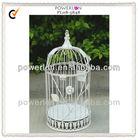 shabby chic metal mini bird cage