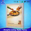 Novo para 2014! Foto de quadro magnético com design, alumínio caixa de luz para fazer propaganda, zhongshan iluminação junlong