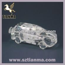 3D crystal car model souvenir promotion factory