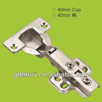 40mm High quality Soft Close Full-overlay Hydraulic Kitchen Cabinet Hinges For Furniture (HH1711)