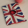 For iPad Flag Case, For iPad Mini Flag Case, PU Leather Case