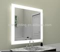 espejo de baño iluminado con luz LED y certificación CE ETL