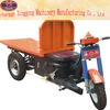 multifunction electric tricycle for cargo transport in kiln
