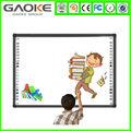 82 pulgadas usb de infrarrojos 4 real puntos multi táctil los niños tablero de dibujo pizarra digital interactiva