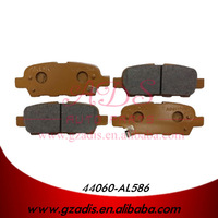FOR TEANA J31/X-TRAIL T30 AUTO PARTS OF JAPANESE CAR METAL BRAKE PADS FOR NISSAN CARS OEM: 44060-AL586