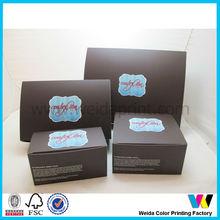 China high quality fancy design custom made cupcake boxes 2-12 hole