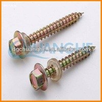 Made in China dacromet raised countersunk head tamper proof self tapping screws