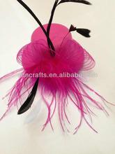 Decorative Mini Hats/Feather Top Hat Clip Mini Hats