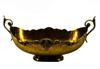 Old European Brass Fruit Bowl