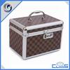 MLD-C131 Manufacturing with coded lock decent aluminum vanity case makeup case