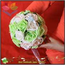 2014 pretty Cheap Bridal accessories Artificial flower ball