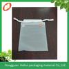 Dongguan Supplier Custom CPE Plastic Drawstring Gift Bags