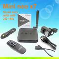 Toptan kaliteli minix neo x7 wifi anten rk3188 dört çekirdekli andriod 4.4 tv kutusu minix x7 minix neo x7 mini