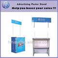 De alta calidad de metal perfil portable exhibición de la tabla, portátil prefabricada cabina del quiosco para la venta