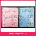 Qishun Wholesale 3 type Shaping tool Eyebrow Template Eyebrow Stencils