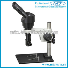 MZDH15100BC high-magnification erecting images monocular zoom stereo microscope to observe surface of object