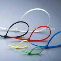 Plastic self-locking nylon cable tie molde plastico de la inyeccion
