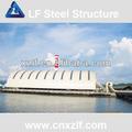 span grande barile space frame giunti sferici stoccaggio del carbone centrale elettrica