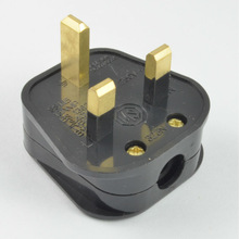 New hot selling products 2014 UK industrial power plug 13A Fuse copper BS power adapter plug
