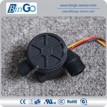 3/8'' plastic Water Flow Sensor for liquid, magnetic water flow sensor