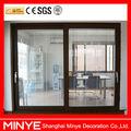 S120 commerciale porte a vetro scorrevoli con costruito in tende da remoto controllato