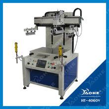 electric flat silkscreen printing machine
