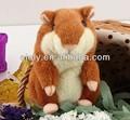 Brinquedo de pelúcia Hamster de pelúcia presente da criança X Hamster